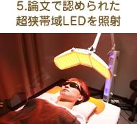 5.論文で認められた超狭帯域LEDを添照射